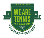 Logo We Are Tennis Fan Academy